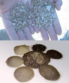 Material tamisat